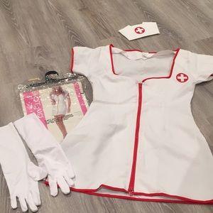 Hot aid nurse costume